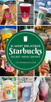 "21 Mouth-Watering Starbucks ""Secret Menu"" Drink Ideas   – ►Best Life Hack Tips Group Board"