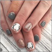 #Awesome #Nail Awesome 45 Awesome Nageldesigns und -farben für Herbst und Winter …   – xmode
