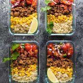 Die 100 besten Rezepte für die Zubereitung von Mahlzeiten   – healthy meals prep