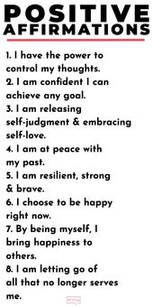 20 Positive Affirmations For Women + The Secret To Making Affirmations Work For You