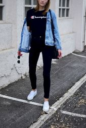 35 Stylish Fall Outfits for College You Have to Put on Now At present, college students focus inc…