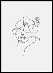 Faces No2 Affiche