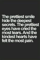 The Prettiest Smile Hide Die tiefsten Geheimnisse Bilder, Fotos und Bilder für Fa … – Quotes