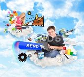 BeatifulInternet cloud people with technology icons Stock Photos #AD #people#cloud#Inte ift.tt/2P3Jh03