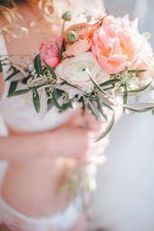 Frühlingsfrisches Boudoir   – Hochzeit