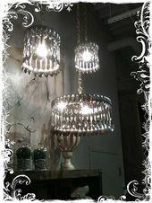My Desert Cottage Vintage Lighting Cool Lighting Vintage Silverware
