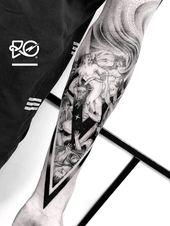Tattoo hochgeladen von Robert Pavez | Mit dem RO. Robert Pavez • Apokalypse 1 • Fertig