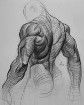 Soft pencil 8B, A2. 18.08.18 #back #bw