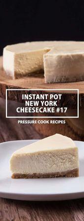 Immediate Pot New York Cheesecake #17