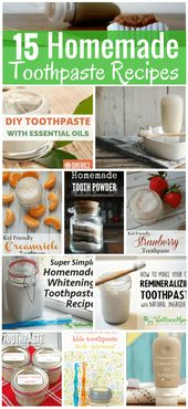 15 Homemade Toothpaste Recipes
