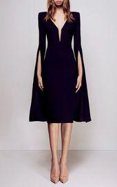 Gown mi-longue