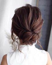 Prom Updos Formelle Frisuren für langes Haar