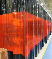 Welding Curtains 1 In 2020 Strip Curtains Painted Curtains Industrial Curtains