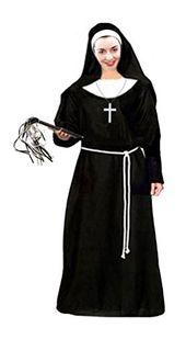Good omens nun cosplay Nun costume Nun habit veil collar Halloween costume Nun/'s costume Ghost costume Renaissance Cosplay Valak costume
