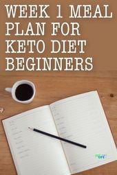 Keto Diet for Beginners Week 1 Meal Plan – Fit Life Geek