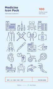 Download Medical Icons Set made by iStar Design. S…