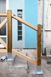 How To Build Deck Stair Railings Howtospecialist How To Build Step By Step Diy Plans Outdoor Stair Railing Deck Stair Railing Diy Stair Railing