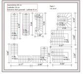 Treppenformen und Maße für Grundrisse Stairs and…