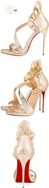 Brilliant Luxury by Emmy DE ♦ Christian Louboutin 'Colankle'