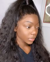 Full Lace Wigs Pure Wave With Child Hairs
