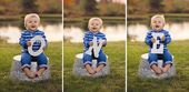 First Birthday Poses Outdoors by Lake, Pond | ONE Letters | First Birthday Photo… – KIDS