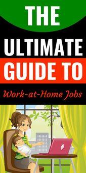 Legitime Arbeit von zu Hause aus, mit der Sie sofort beginnen können!