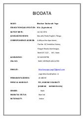 Image Result For Biodata Format For Marriage Pdf Free Download Biodata Format Download Marriage Biodata Format Biodata Format