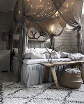 Canopys, eine groartige Idee, um Ihr Schlafzimmer noch komfortabler zu gestalten…