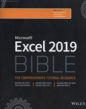 2018 Excel 2019 Bible By Michael Alexander Wiley Bible Pdf Ebook Free Reading