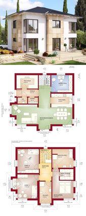 Stadtvilla EVOLUTION 165 V5 mit Walmdach – Bien-Zenker | HausbauDirekt