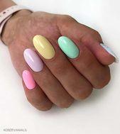 23 hübsche Möglichkeiten, Regenbogennägel in diesem Sommer zu tragen   StayGlam #rainbownails   – rainbow nails