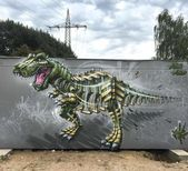 Artist Turns Animals Into Robots Into His Illustrations And The Result Is Incred…   – 3D Graffiti