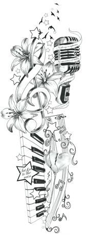 Von Adele inspirierte Tattoo-Idee von artfullycreative …. on @deviantART – B – ##tattoo #adele #adeviantart #artfullycreative #inspirierte