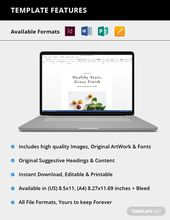 Mint Editable Recipe Book Template Word Doc Indesign Apple Mac Pages Publisher Recipe Book Templates Book Template Recipe Book