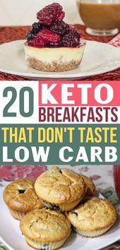 Diese Keto-Frühstücke sind unglaublich !! Jetzt habe ich sooo viele kohlenhydratarme Frühstüc …