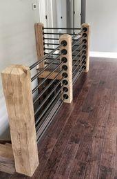 Idées de conception de garde-corps de pont – #Deck #Design #Ideas # …