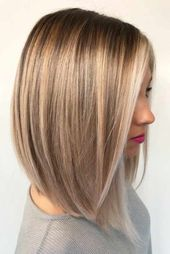 30 Trendy medium long hairstyles for thick hair