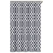 Echelon Home Irving Place Cotton Polyester Shower Curtain