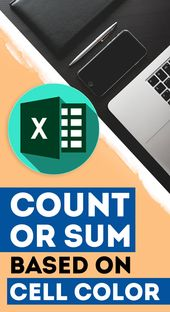 #Excel #Tip: Count or Sum using Cell color in Excel