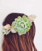 DIY Succulent Crown In 10 Easy Steps