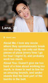 Profile sample dating online description 25 Prompts
