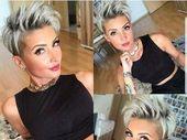 33 penteados Pixie diferentes para moças bonitas   – Mode für Frauen
