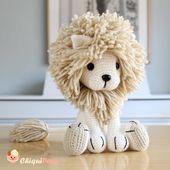 Lion Crochet PATTERN Amigurumi patterns pdf tutorial – TYRION le lion   – Amigurumi