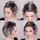Süße Zöpfe mit kurzen Haaren, die Sie lieben werden – Neue Ideen   – short-hair-styles