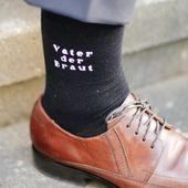 Wedding socks Father of the bride
