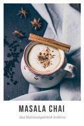 Masala Chai – Indian spiced tea  – Cocktails & Drinks