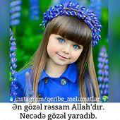 Sabahiniz Xeyir Heqiqetende En Gozel Ressam Allahdir Qizda Olan Gozelliye Baxin Gozel Girls Short Haircuts Little Girl Short Haircuts Beautiful Children