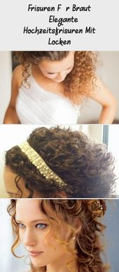 Hairstyles For Bride – Elegant Wedding Hairstyles With Curls