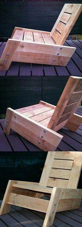 55 Ausgezeichnete minimalistische DIY-Holzmöbel d…