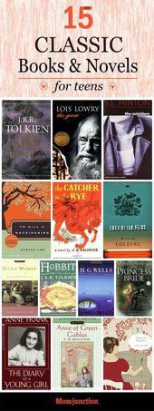 15 besten klassischen Bücher für Jugendliche zu lesen